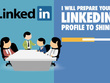 Prepare your LinkedIn profile to SHINE
