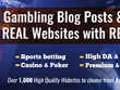 Guest Post on DA50+ Sites Gambling   Casino   Sports   Betting