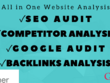 Provide SEO Audit Report, Competitor Website Audit And Analysis