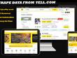 Do Scrape/extract data from Yell.com
