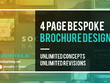 Design a bespoke 4Page brochure
