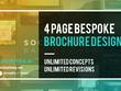 Design a bespoke 4Page brochure
