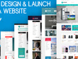 BUILD, DESIGN & LAUNCH you a Premium Design Shopify Website