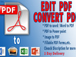 Edit PDF or create fillable PDF forms in 1 Day
