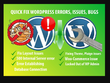 Fix Wordpress Issues , Errors And Bugs