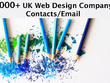 Send you 9000 plus UK WEB DESIGN Company/agencies