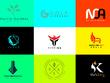 ⚡ Design a Minimalist LOGO + Artwork + 3 Concepts + Revisions  ⚡