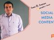 Create social media content and calendar