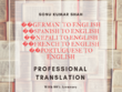 Translate upto 500 words from German to English--Spanish to Engl