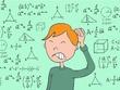 Teach math for 1 hour