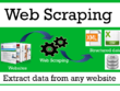 Do Web Scraping and data mining From Public Websites