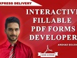 Create fillable pdf form or convert files into fillable pdf form