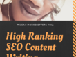 Write SEO content for your website, blog or WordPress.