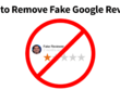 Fix google my business negative reviews
