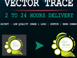 Vector Trace Your Any Logo Or Image Within 2 Hours