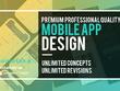 Design Premium Professional Quality Mobile App Design