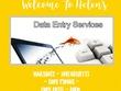 Provide 3 hours of Data Entry