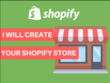 Build your own professional  E-Commerce Shopify store