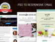 Convert your PSD into Responsive HTML Email with pixel perfect