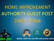 Write a guest Post on Home Improvement blog  DA85 PA88