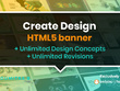 Create great HTML5 banner with unique animation & CTA button