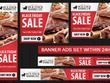 Design Amazing Banner Ads Set for Google Adwords (5 Sizes)