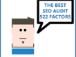 Do a 522 point SEO Audit and give a plan to increase rankings