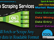 Data Scraping/Extraction/Gathering From any Website/Directory