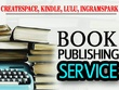 Edit, format, design book covers and publish your book
