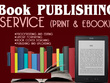 Prepare and publish your book on Amazon, Lulu, Ingramspark, Nook