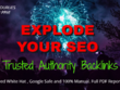 Explode your SEO  with 30 high DA Premium Manual Backlinks