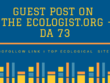 Publish Guest Post on The Ecologist.org - DA 73