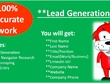 Do Lead Generation/Sales Navigator Research/Data Entry