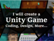 ✔ Create a Unity game