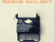 Write a Press Release on ANY topic, unlimited revisions