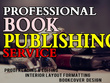 Be your book publishing for amazon, lulu, barnes and noble