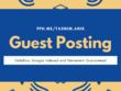Write & publish 10 guest posts on DA50+ & Ahrefs  DR50+ websites