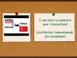 Translate documents between Turkish English language pairs