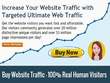 25 000 organic Google search engine ranking SEO website traffic