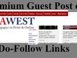 Publish Indiawest - Indian News Guest post - indiawest.com DA 64