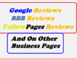 Post Reviews On Google BBB YellowPages Etc