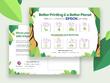 Design 1 page flyer, leaflet, brochure in 2 days
