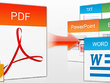 Convert pdf to word, excel, powerpoint, jpeg, ai