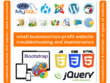 Do 5 hrs website optimization, troubleshooting & maintenance job
