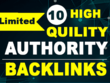 Guest Post on 10 High Authority Sites DA 50-98 Dofollow Backlink