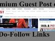 Indian News Magazine Site Guest post on indiapost.com Indiapost