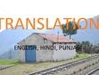 Translation English to Hindi or Punjabi (max 700 words)