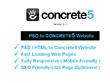 Build your PSD to Concrete5 responsive website