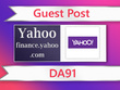 Guest post on Yahoo - finance.yahoo.com - DA91