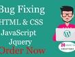 Fix Html CSS Bootstrap Wordpress Issue
